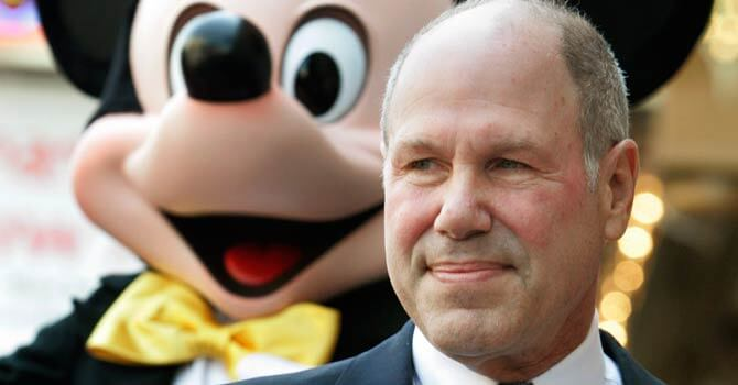 Michael Eisner, former chairman and CEO of The Walt Disney Co