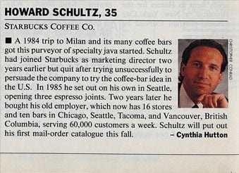 starbucks From the archives of Fortune Magazine