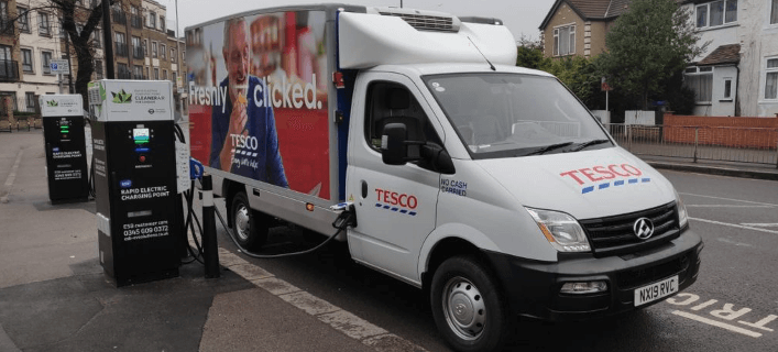 tesco-electric-delivery-truck-charging